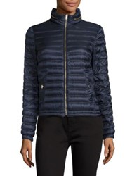 Burberry Jacksdale Ultra Lightweight Packable Puffer Jacket Ultra Ink