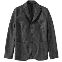 Harris Wharf London 3 Button Jacket Grey