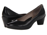 Ecco Sculptured 45 Pump Black Dress Women's Shoes