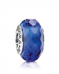 Pandora Design Pandora Charm Murano Glass Blue Fascinating Moments Collection