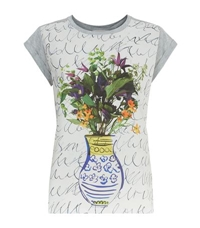 Paul Smith Photo Print Floral T Shirt