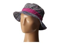 Prana Sea Shells Bucket Black Driftwood Bucket Caps Gray