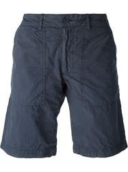 Woolrich Washed Chino Shorts Blue