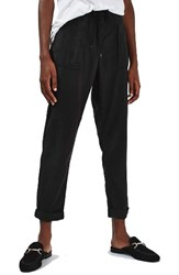 Topshop Women's Utility Tapered Trousers