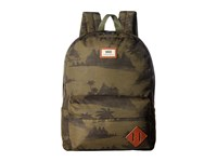Vans Old Skool Ii Backpack Tahoe Floral Backpack Bags Brown