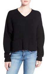 Joe's Jeans Women's 'Vance' Boxy Crop Wool Sweater