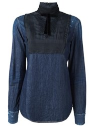 Dsquared2 'Victorian' Shirt Blue