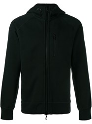 Rag And Bone Zipped Hoodie Black