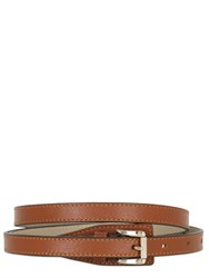 Trussardi 15Mm Leather Belt