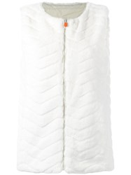 Save The Duck Fury Gilet White