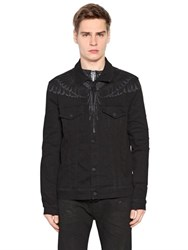 Marcelo Burlon Canouan Cotton Denim Jacket