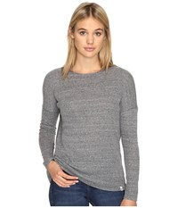 Volcom Lived In Go Pullover Crew Heather Grey Women's Long Sleeve Pullover Gray