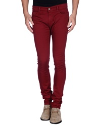 Cnc Costume National C'n'c' Costume National Casual Pants Maroon
