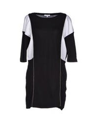 Surface To Air Short Dresses Black
