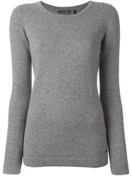 Woolrich Scoop Neck Jumper Grey