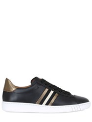 Bally 20Mm Wiolet Leather Sneakers