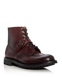 Church's Enderby 2 Lace Up Boots Burgundy