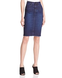 Nobody Cult Denim Pencil Skirt In League