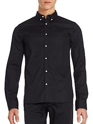 Superdry Slim Fit Buttondown Shirt Black