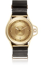 Givenchy Seventeen Watch In Gold Plated Stainless Steel