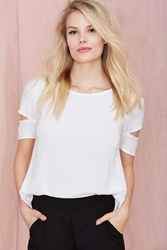 Nasty Gal With The Band Tee