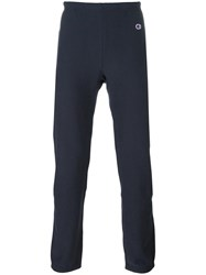 Champion Elasticated Waistband Sweatpants Blue