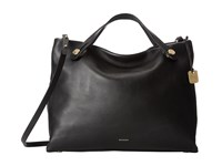 Skagen Mikkeline Satchel Black Satchel Handbags