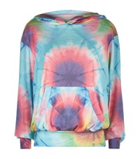Wildfox Couture Wildfox Unicorn Tie Dye Hoodie Female Multi