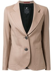 Loveless Patch Pocket Blazer Brown