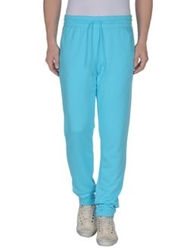 Le Coq Sportif Casual Pants Turquoise