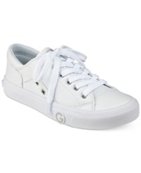 G By Guess Chai Lace Up Sneakers Women's Shoes White
