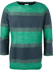 Paul Smith Striped Sweater Green