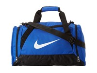 Nike Brasilia 6 Small Duffel Game Royal Black White 4 Duffel Bags
