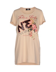 Vdp Collection T Shirts Beige