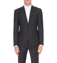 Reiss Daley Wool Blazer Charcoal