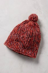 Anthropologie Apres Beanie Red