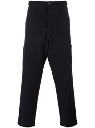 Oliver Spencer 'Judo' Trousers Blue