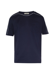 Balenciaga Contrast Piping Jersey T Shirt