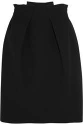 Roland Mouret Kava Wool Crepe Mini Skirt