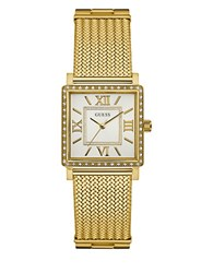 Guess Highline Goldtone Square Watch