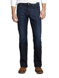 7 For All Mankind Austyn Relaxed Straight Leg Jeans Los Angeles Dark