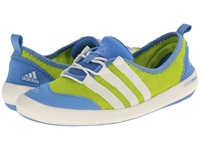 Adidas Outdoor Climacool Boat Sleek Semi Solar Yellow Chalk White Lucky Blue Women's Shoes Green
