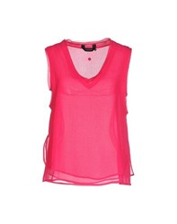 Eleven Paris Topwear Vests Women Fuchsia