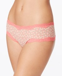 Calvin Klein Cotton Cheeky Hipster Qd3535 Tricolor Poise Pink