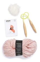 Women's David And Young 'Chelsea' Diy Beanie Kit Pink Light Pink
