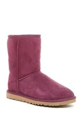 Ugg Classic Short Genuine Sheepskin Lined Boot Purple