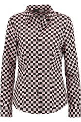 Love Moschino Printed Cotton Shirt Black