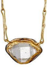 Judy Geib Women's Marquise Pendant Necklace Gold