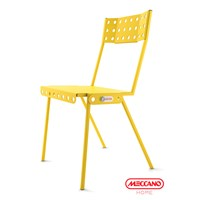 Meccano Home Bistrot Chair Yellow