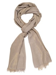Chesca All Over Metallic Printed Scarf